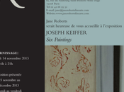 Galerie Jane ROBERTS exposition JOSEPH KEIFFER EMMANUEL BLOT