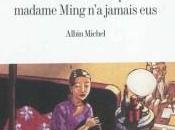 enfants madame Ming jamais eus, Eric-Emmanuel Schmitt