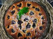 Gâteau amande framboise, soleil