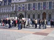 rassemblement Paris très encadré Police