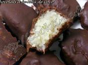 Bounty maison Chocolats Noix Coco