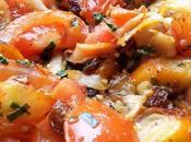 Poêlée tomate surimi raisin