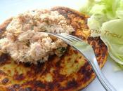 Pancake pommes terre rillettes bonite