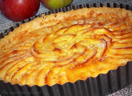 tarte aux pomme au beurre parfum 233 e 224 la cannelle 224 tomber 192 voir