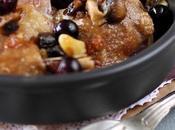 Cuisses canard confites l'ail raisin noir