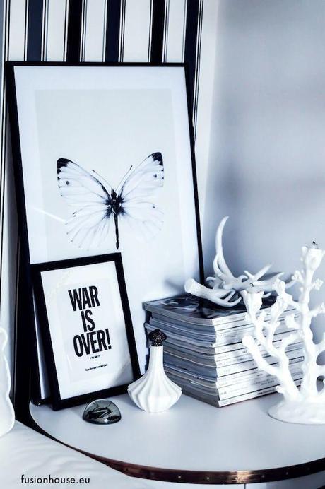id es d co papillons libellules et insectes sur le mur paperblog. Black Bedroom Furniture Sets. Home Design Ideas