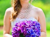 Decoration fete theme papillon violette/bleu