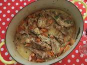 Lapin cidre légumes