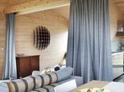 Cabane bois, simplicité l'île Skye