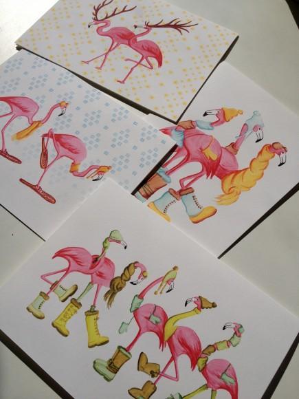 Les plus belles cartes de no l les roses paperblog - Les plus belles cartes de noel ...