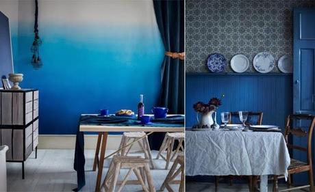 Dipinto di blu paperblog for Peintures murales tendances