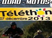 Rando quad moto Téléthon Quad Cucugnan (11) décembre 2013