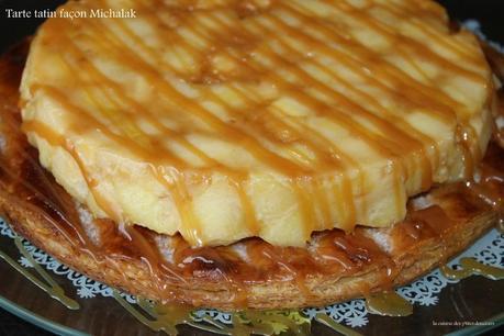 Tarte tatin fa on michalak et p te feuillet e semi rapide de mercotte voir - Recette tarte salee originale ...