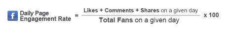 Calcul du taux d'engagement Facebook par Social Bankers
