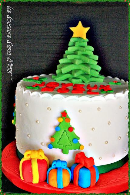 cake design joyeux noel paperblog. Black Bedroom Furniture Sets. Home Design Ideas