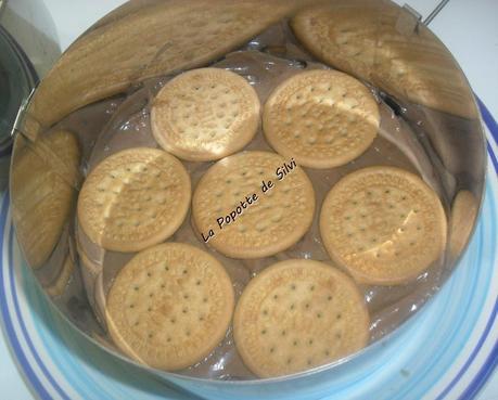 Le g teau aux biscuits maria au chocolat sans cuisson - Gateau chocolat sans cuisson ...