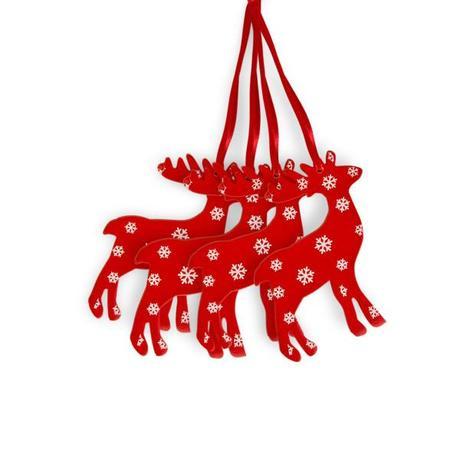 D co sapin de no l tradi en rouge et blanc paperblog - Deco de sapin de noel rouge et blanc ...