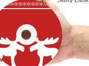 cadeaux Noël faits main jaquettes, étiquettes pochettes DVD.