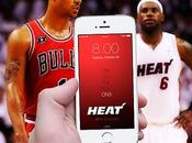 fond d'écran iPhone couleurs Bulls (NBA)...