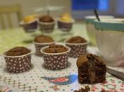 Muffins chocolat coeur coulant crème marrons