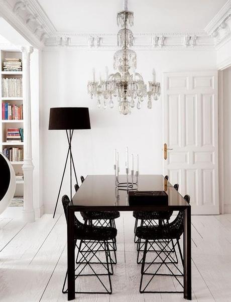 Salle manger table ronde ou rectangulaire paperblog - Decorer sa salle a manger ...