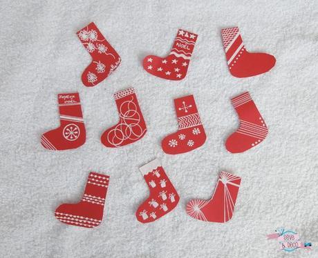 mon diy petite guirlande de chaussettes de no l paperblog. Black Bedroom Furniture Sets. Home Design Ideas
