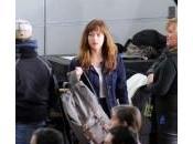Fifty Shades Grey tournage poursuit pour Dakota Johnson Jennifer Ehle