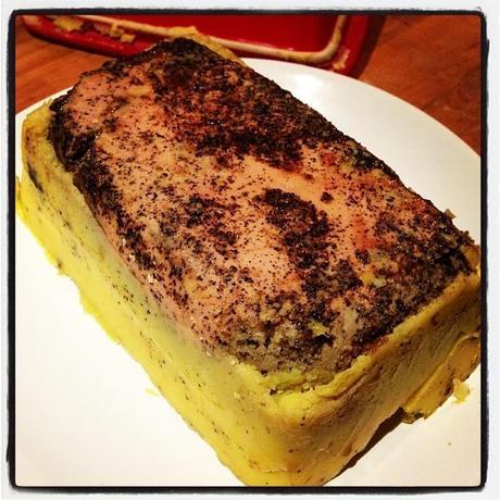 terrine de foie gras mi cuit pour les nuls merci paperblog. Black Bedroom Furniture Sets. Home Design Ideas