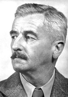 William Faulkner - American writer and Nobel Prize laureate from ...