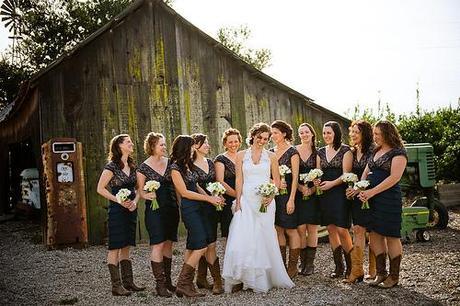 Un mariage sur le thème de la country - Paperblog