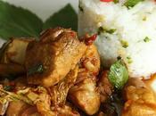 Porc épicé basilic chou chinois