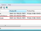 Retrouver clés d'activation logiciels Windows