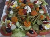 Salade variée brochettes dinde