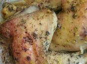 Poulet thym citron {sac cuisson, assaisonnement maison, sans gluten, lactose}