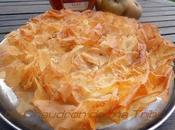 Tourtière landaise pommes flambées l'armagnac (pâte filo)
