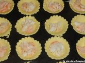 Mini-quiches crabes mousse chartreuse glacee