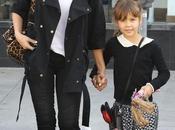Jessica Alba Baverly Hills avec fille Honor 22.12.2013