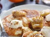 Pancakes moelleux sirop praline