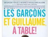garçons Guillaume, table Guillaume Gallienne