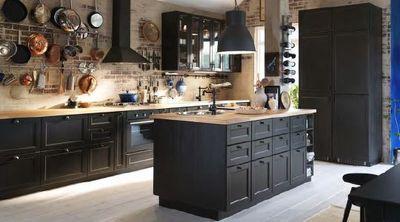 Les bonnes r solutions n 2 je changerai de cuisine - Cuisine noir ikea ...