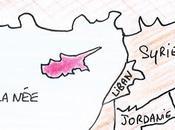 L'histoire Chypre quelques coups crayon