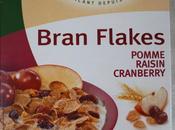 yaourts diététiques maison Bran Flakes avec pommes, raisins, cranberry stévia