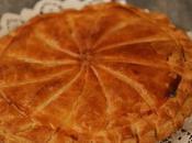 Galette rois crème d'amandes zestes citron pâte feuilletée express minutes