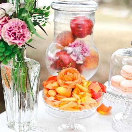 Bocal en verre pour bonbons en centre de table paperblog - Centre de table en bonbon pour mariage ...