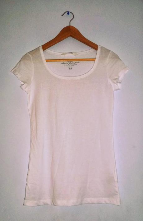 diy 5 personnaliser un tee shirt blanc paperblog. Black Bedroom Furniture Sets. Home Design Ideas