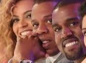 Quand Beyonce, Jay-z Kanye West sortent grand pour Blue Ivy!