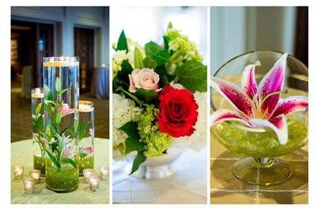 Mariage vert anis et rose fushia original paperblog for Decoration mariage vert d eau