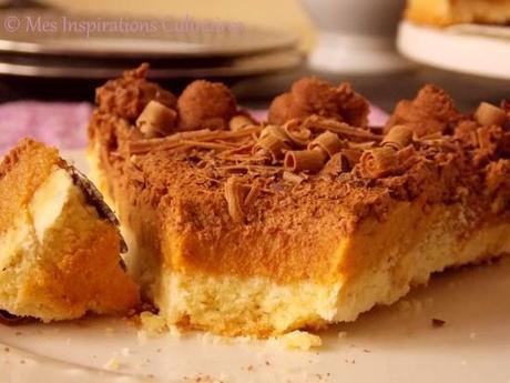 tarte au caramel beurre sal et mousse au chocolat paperblog. Black Bedroom Furniture Sets. Home Design Ideas