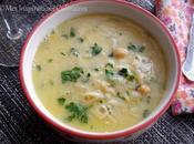 chorba beida (soupe algeroise sauce blanche)