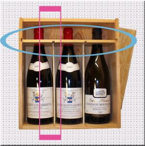 diy un coffret vin se fait tag re pices paperblog. Black Bedroom Furniture Sets. Home Design Ideas